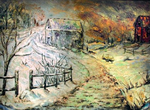 Winter Landscape in Bucks County (SOLD)