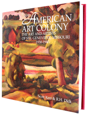 an american art colony book