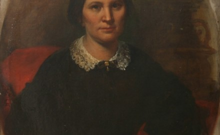 Portrait of Mrs. Justine Clermont (Wife of the founder of the Lemp Brewery, Mr. Johann Adam Lemp) (SOLD)
