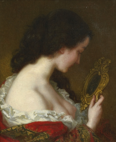 Woman with a Looking Glass