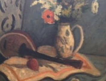 Flower with Mandolin