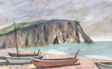 Bluffs with Boats