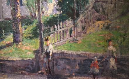 Street Scene (SOLD)