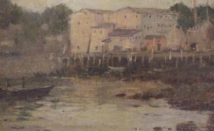 Harbor Scene (SOLD)