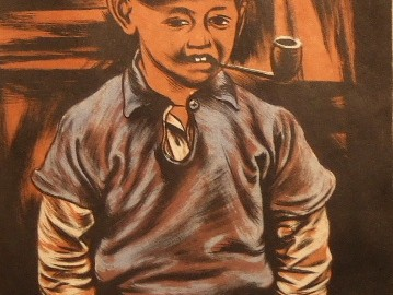 Portrait of Young Boy (SOLD)
