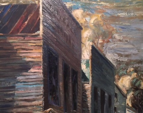 "Aimee Schweig ""The Ozarks, 1942"""