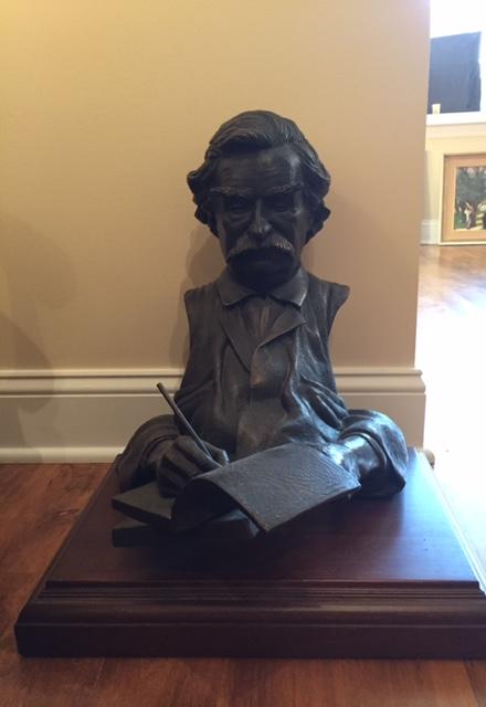 Mark Twain Bust