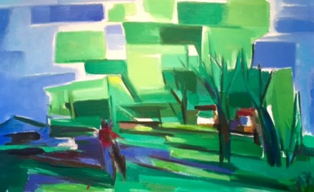 Under Tall Trees (SOLD)