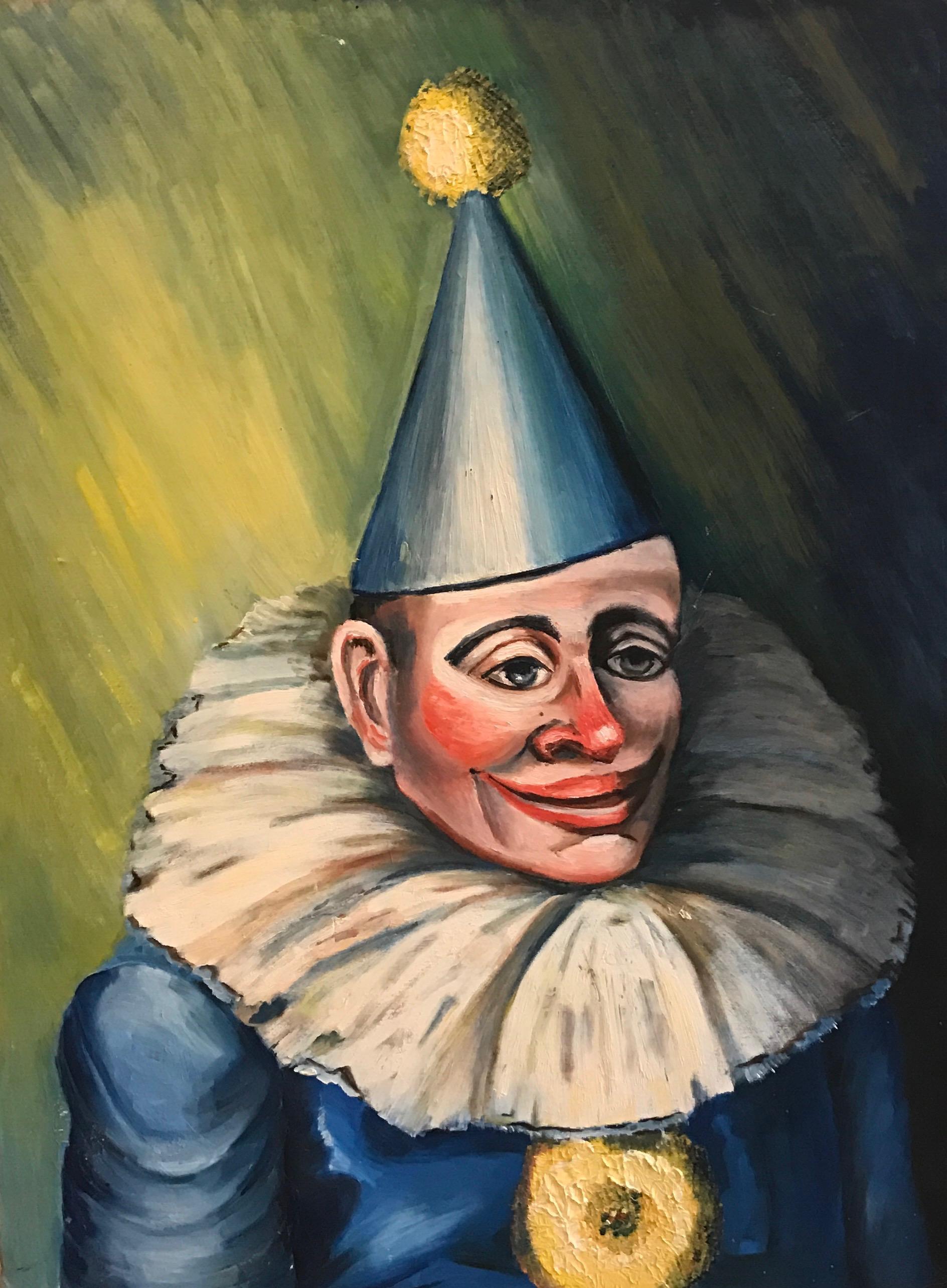 Joe For Oil >> Circus Clown Series #2 - McCaughen and BurrMcCaughen and Burr