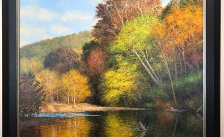 Autumn on the Huzzah River