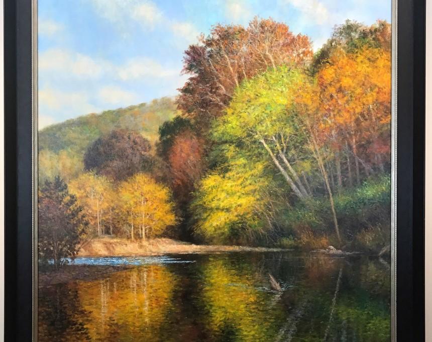 Autumn on the Huzzah River