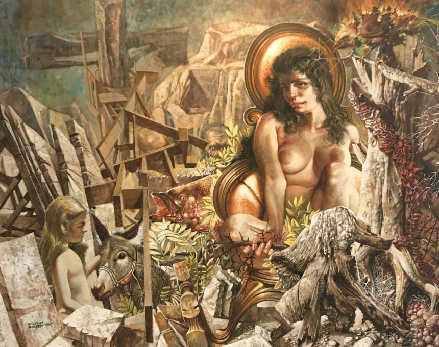 Allegorical Landscape, 1961 (SOLD)
