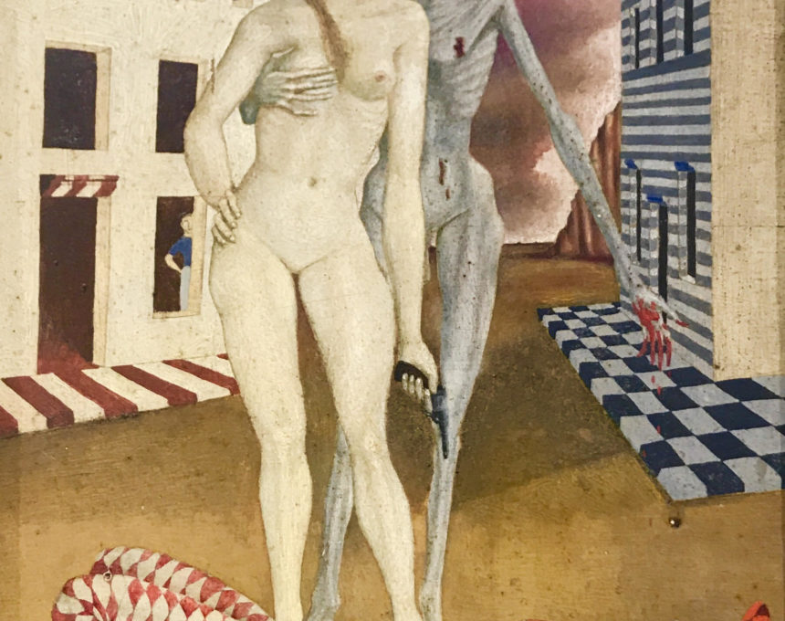 Death and the Maiden, 1946 (SOLD)