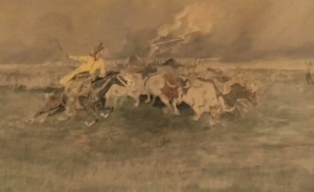 The Stampede, 1889