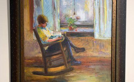 Boy Reading c.1920