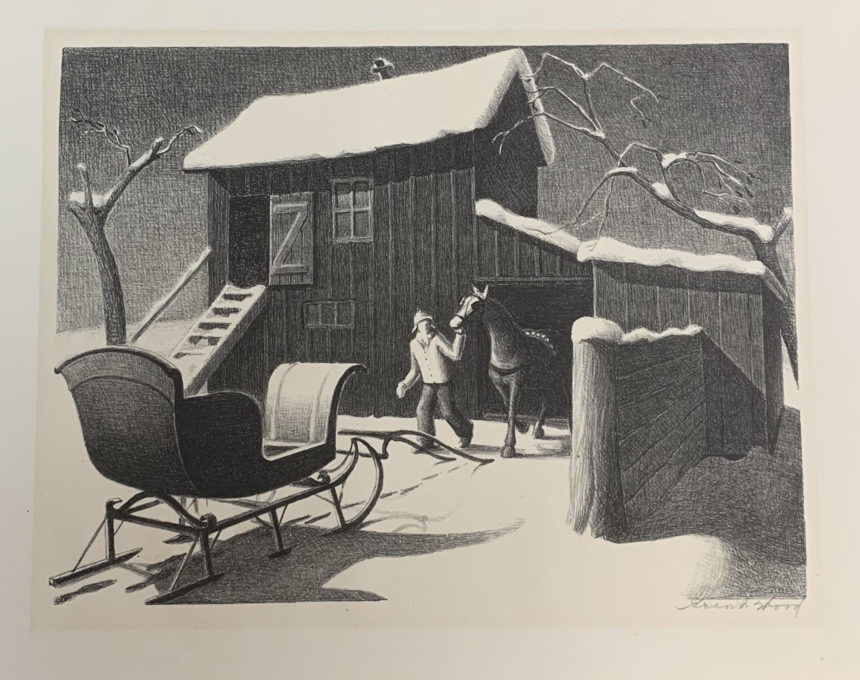 December Afternoon, 1940