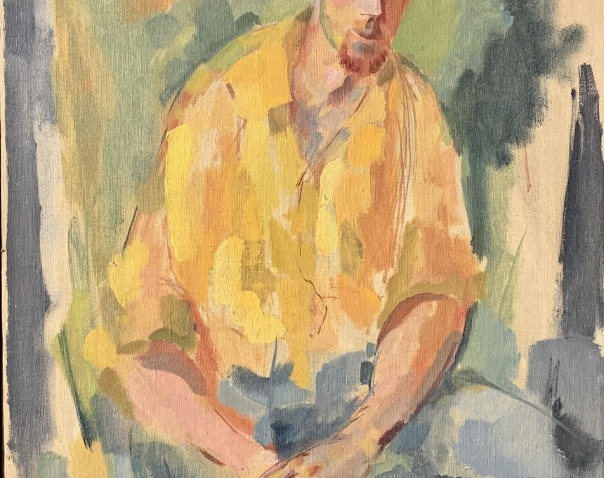 Portrait of Charles Gehm 1950