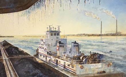 Winter Passage, Ohio River